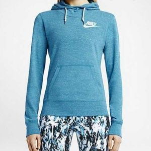M Nike Vintage Light Blue Lacquer Hoodie